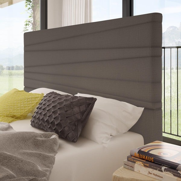 Amisco Prana Queen Size Upholstered Headboard