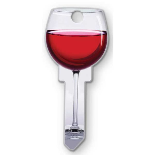 Lucky Line Products E108 Red Wine Key Chain