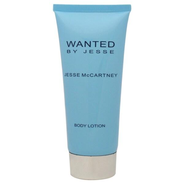 Jesse McCartney Wanted 5-ounce Body Lotion