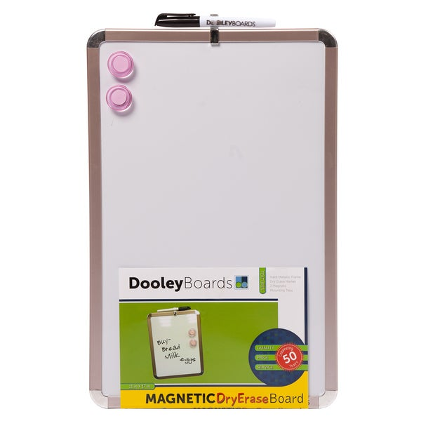 "Dooley Boards 1117MGMTC 11"" X 17"" Magnetic Dry Erase Board"