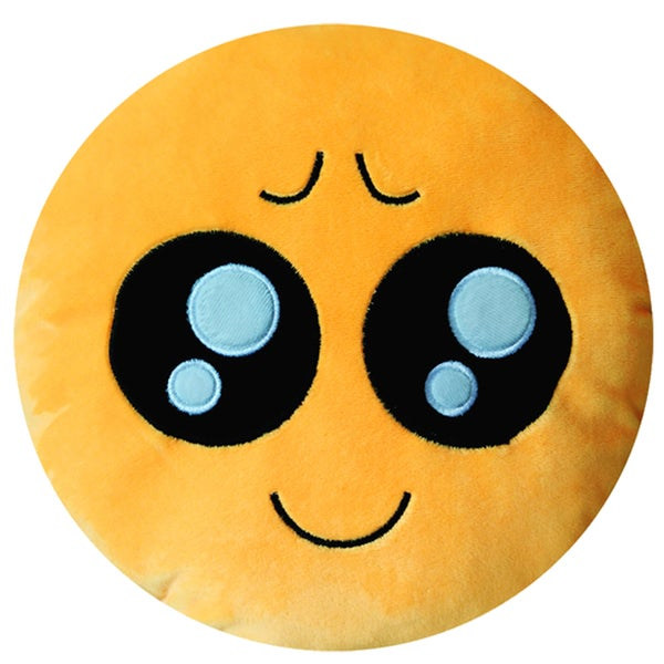 Emoji 'Pity Face' Plush Expression Pillow