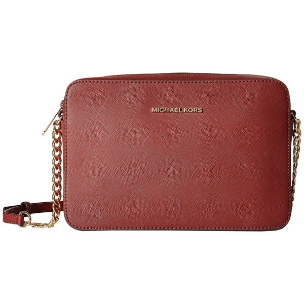 Michael Kors Jet Set Travel Brick Large Crossbody Handbag