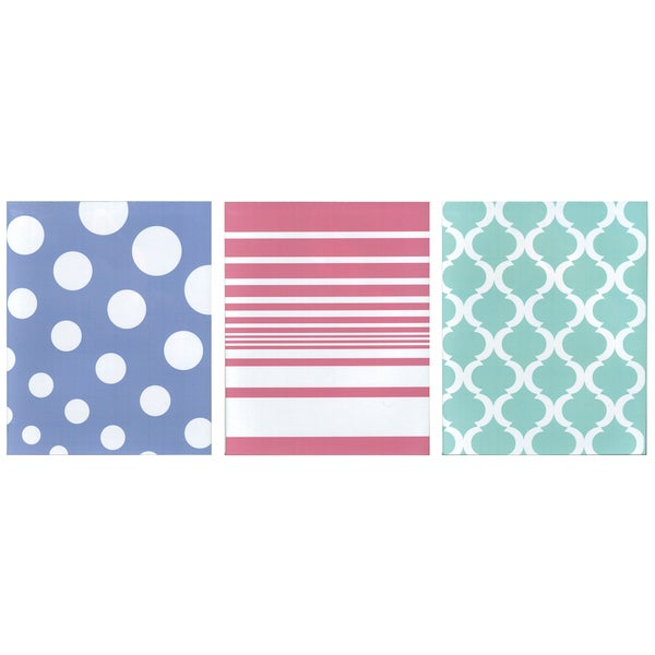Carolina Pad 14532 2 Pocket Folder Assorted Colors