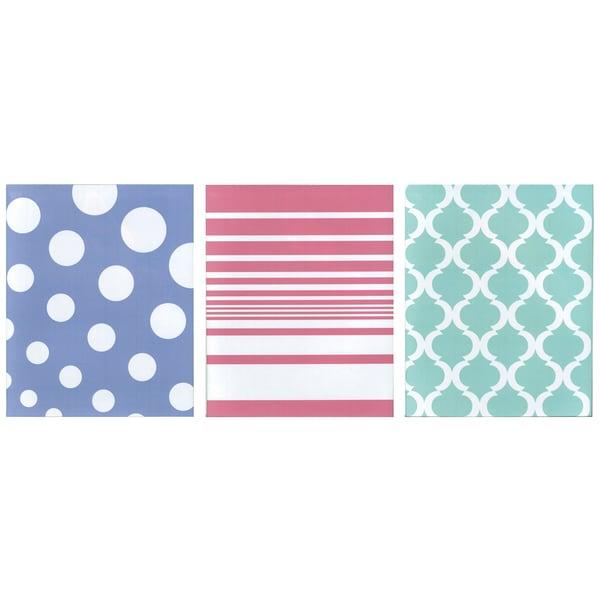 Carolina Pad 14532 2 Pocket Folder Assorted Colors