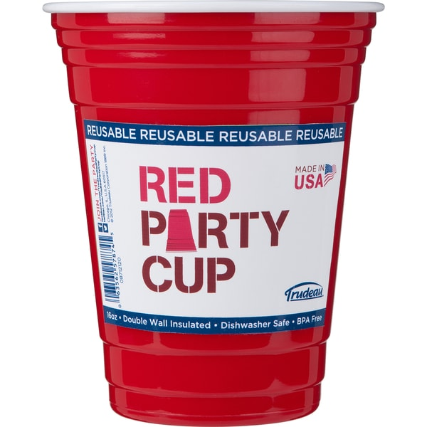 Trudeau 08712120 16 Oz Single Red Party Cup 21217997