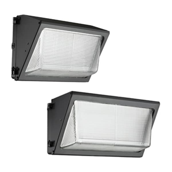 Lithonia Lighting Black Aluminum/Glass Energy-efficient Wall Pack