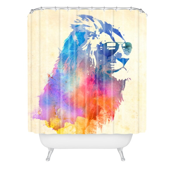 Robert Farkas Sunny Leo Shower Curtain