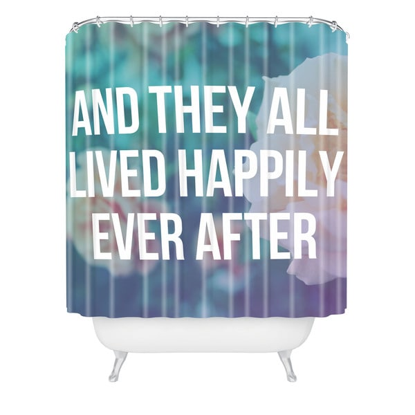 Leah Flores Ever After Shower Curtain