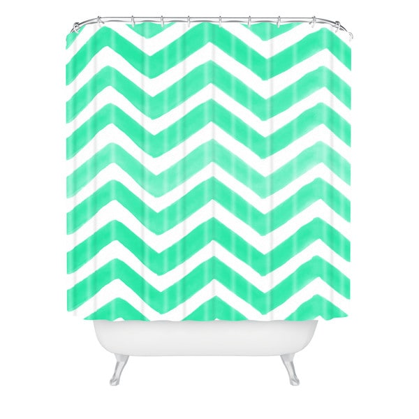 Rebecca Allen The Tiffany Shower Curtain