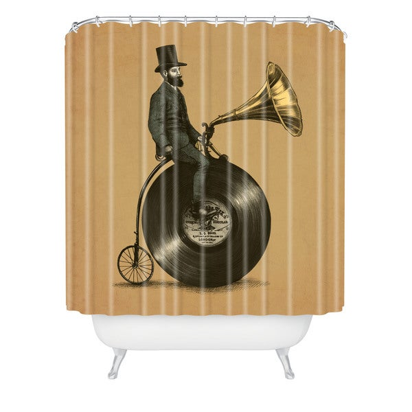 Eric Fan Music Man Shower Curtain