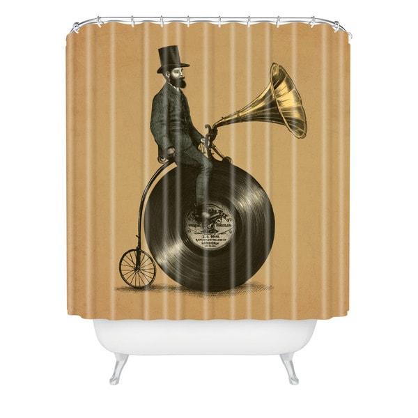 Eric Fan Music Man Shower Curtain