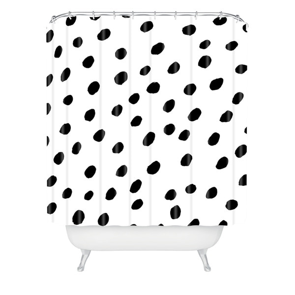 Rebecca Allen Dinner At Eight Shower Curtain