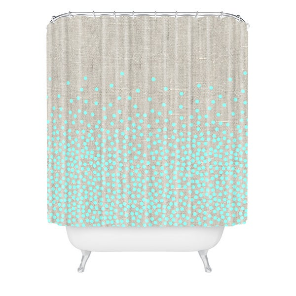 Iveta Abolina Hint Of Mint Shower Curtain