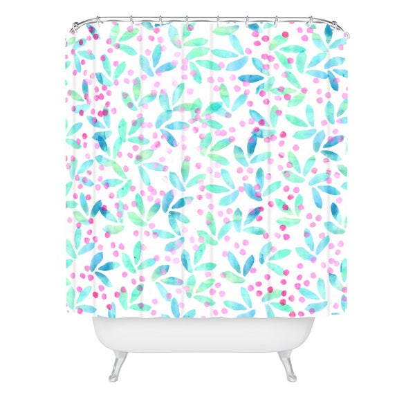 Hello Sayang Very Berry Nice Shower Curtain