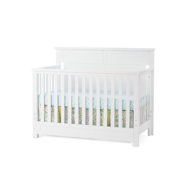 Child Craft Abbott Matte White 4-in-1 Lifetime Convertible Crib 21237591