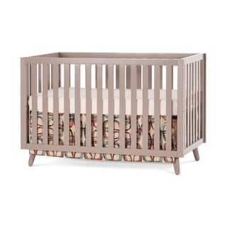 Babyletto modo 3 in 1 convertible crib with toddler rail for Child craft soho crib