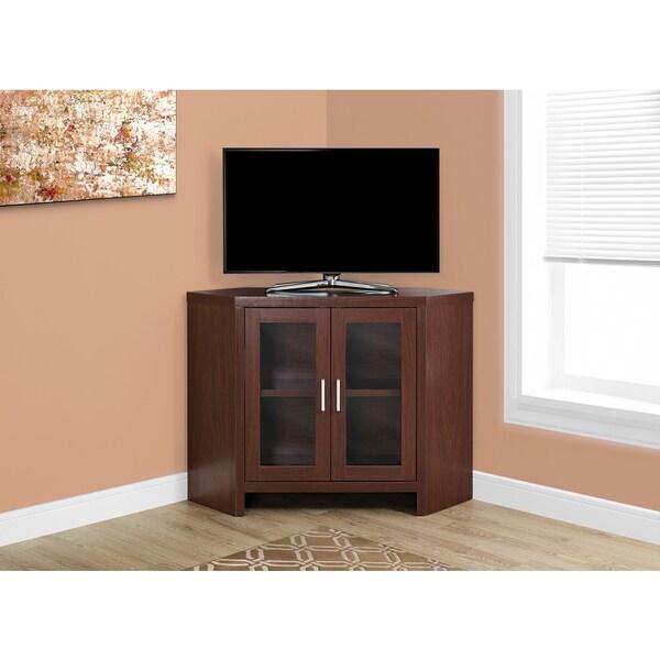 Cherry Corner TV Stand
