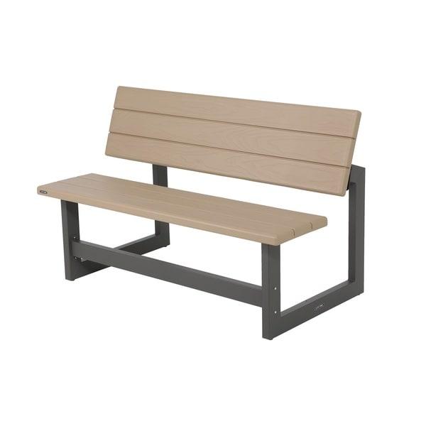 Lifetime Heather Beige Convertible Bench