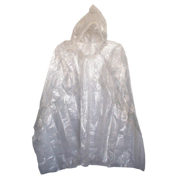 "Boss Rainwear 42 80"" Clear Sport Poncho"