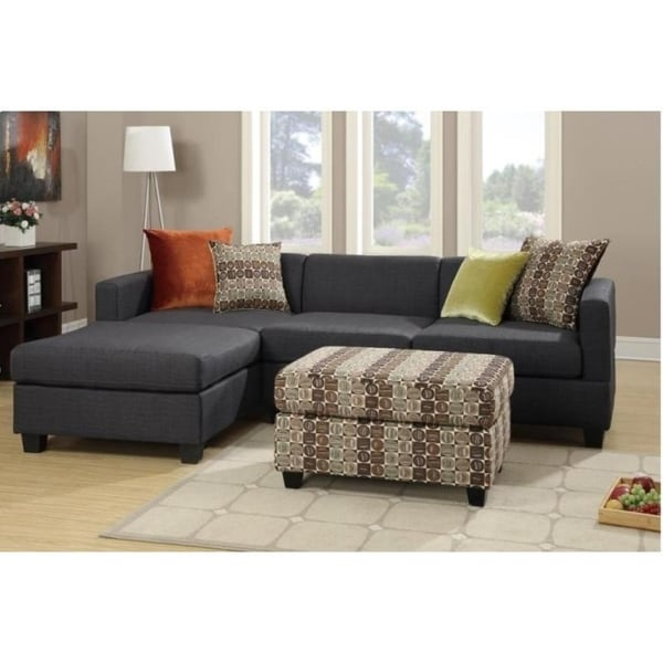 Banna 2-piece Sectional Set with Accent Pillows 21240457