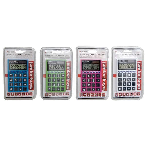 Sentry CAL-CA279 Jumbo Key Pocket Calculator