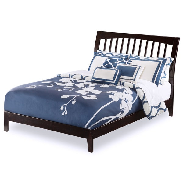 Orleans Espresso Full-sized Open-foot Bed