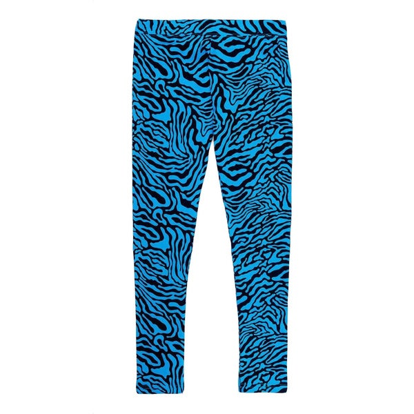French Toast Girls' Blue Animal-print Leggings