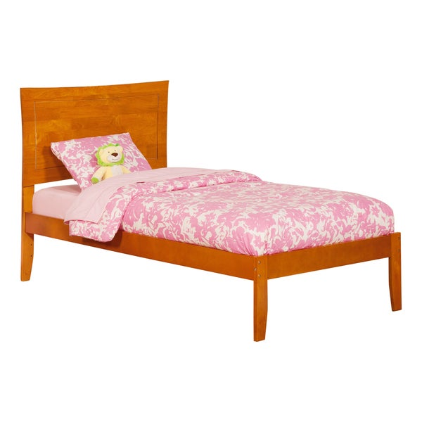 Atlantic Kids' Metro Caramel Latte Twin Open-foot Platform Bed 21241663