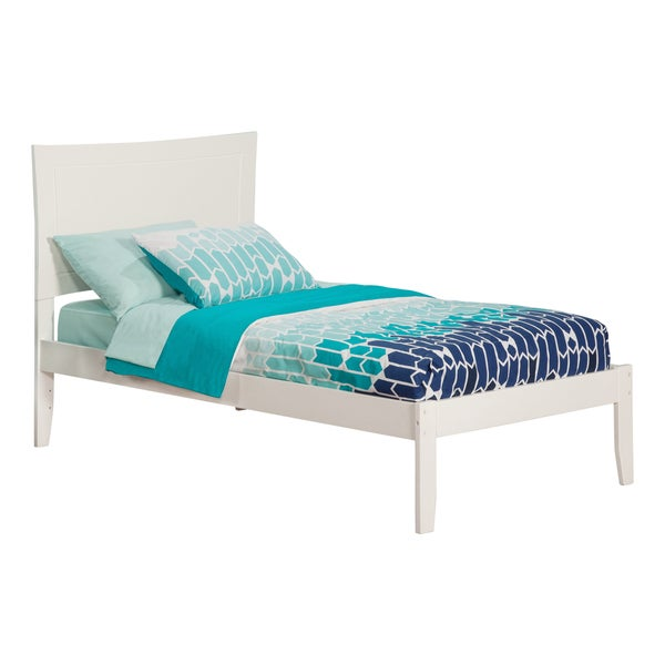 Metro White Open Foot Twin-size Bed