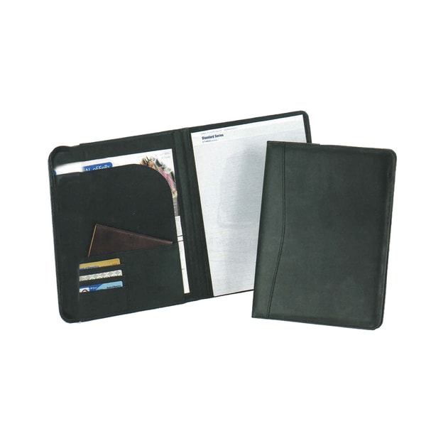 Good hope Black Leather Memory Pad Holder