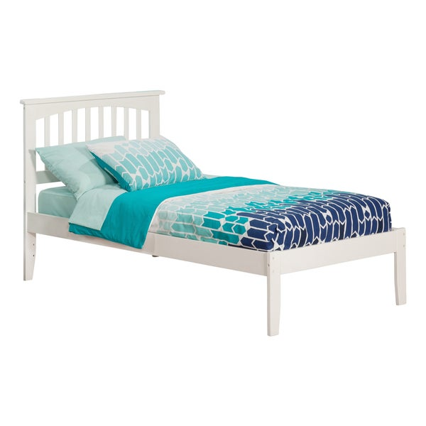 Mission White Twin XL Open Foot Bed