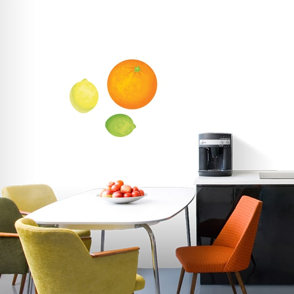 Orange Lemon Lime Wall Decals Set 21243124