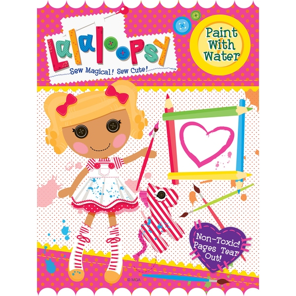 Lalaloopsy 115380 Lalaloopsy Paint With Water Book