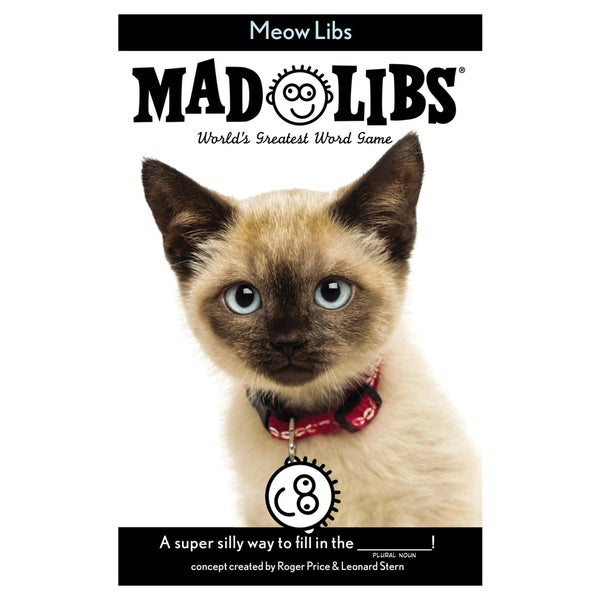 Penguin 80843-18292 48 Page Meow Mad Libs Activity Book
