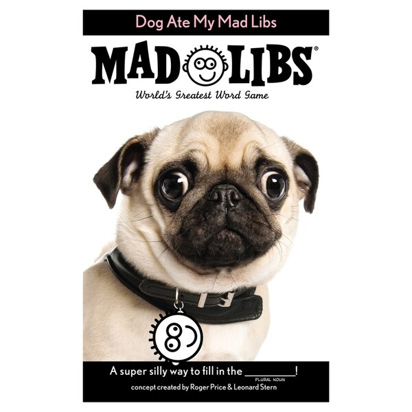 Penguin 80843-18293 48 Page Dog Ate My Mad Libs
