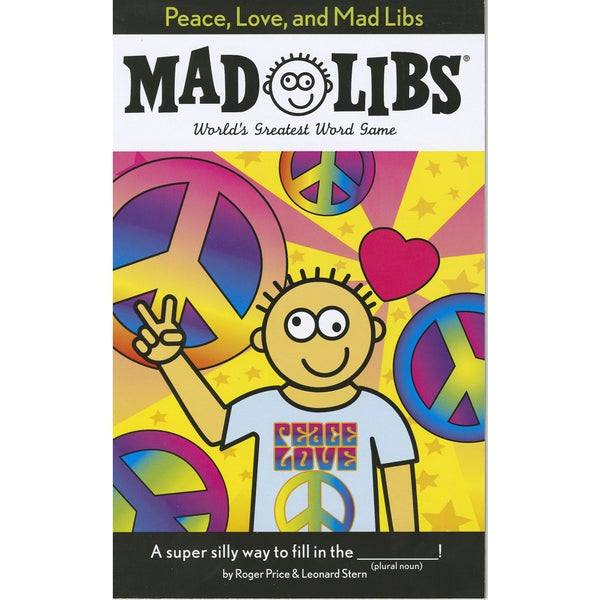 Penguin 80843-18930 Peace, Love, & Mad Libs