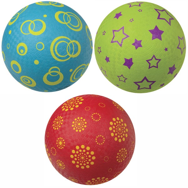 Toysmith 26001 Classic Playground Ball Assorted Colors