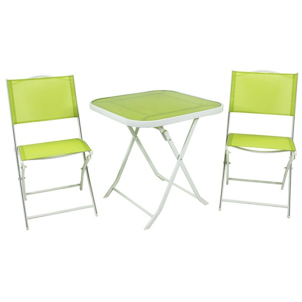 River Cottage Gardens PB009 Lime Bistro 3 Piece Set