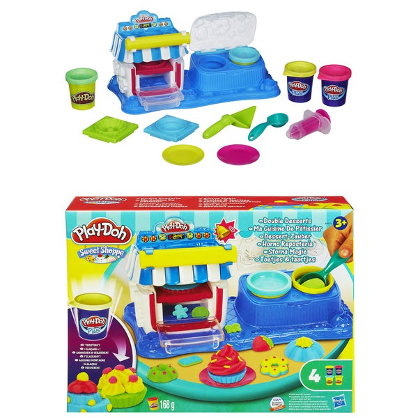 Play Doh Sweet Shop A5013 Play-Doh Double Dessert Maker