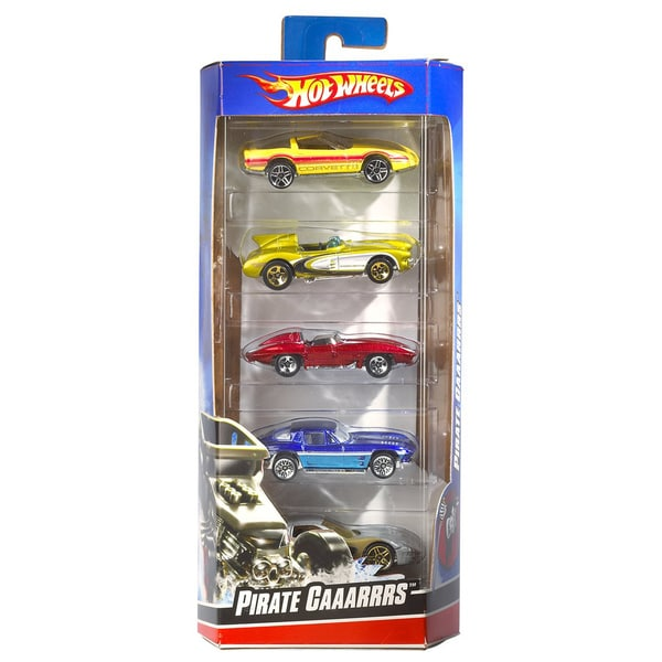 Hot Wheels 01806 Hot Wheels Car Assortment 5-count