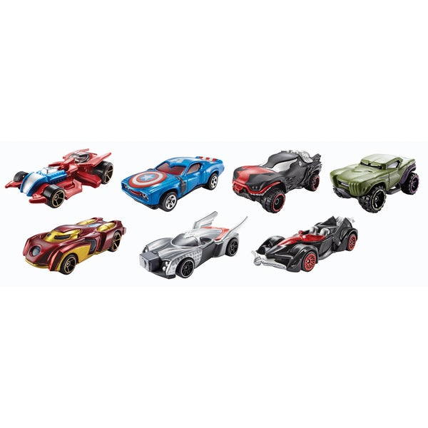 Hot Wheels BDM71 Marvel Character Car Assorted Styles