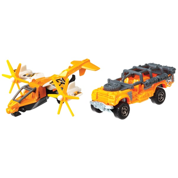 Matchbox CHB92 Land & Air Vehicles Toy Assorted Styles 2-count
