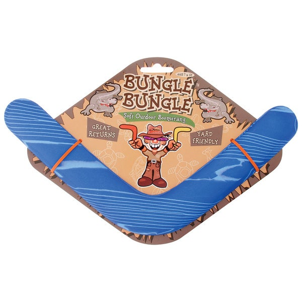 "Toysmith 74142 13-1/2"" Soft Outdoor Bungle Bungle Boomerang"