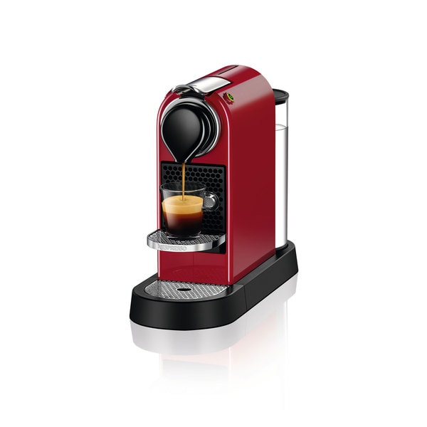 Nespresso CitiZ Cherry Red Espresso Machine