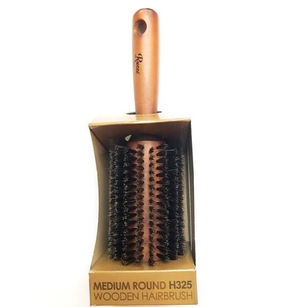 Medium Round Wooden Hair Brush