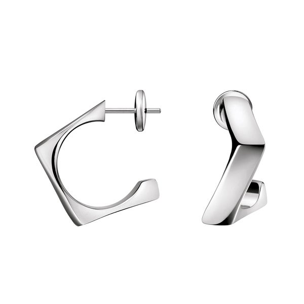 Calvin Klein Women's Stainless Steel Slant Fashion Earrings 21247296