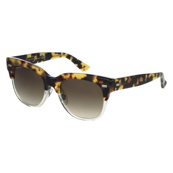 Gucci Womens GG3744/S 03MQ Rectangular Sunglasses