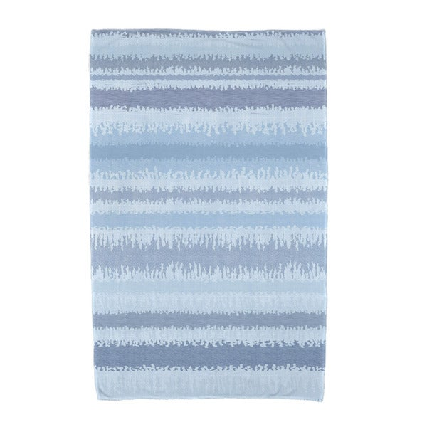 E by Design Raya De Agua Stripe Print Beach Towel 21252806