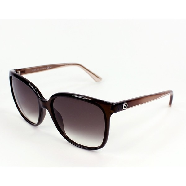 Gucci Womens GG3696/S 0G7O Oval Sunglasses