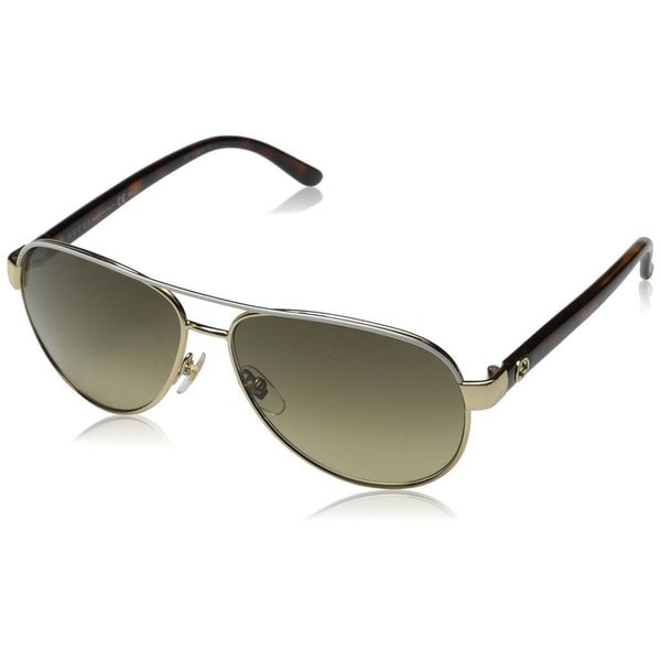 Gucci Womens GG4239/S 0BOA Aviator Sunglasses